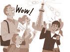 太中トシヤの仕事/英会話教育者向け書籍のイラスト